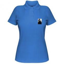 Купить Женская футболка поло Гражданская оборона, FatLine