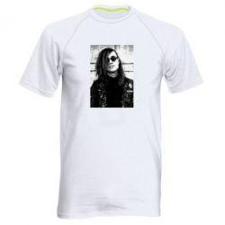 Купить Мужская спортивная футболка Гражданская оборона, FatLine
