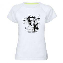 Жіноча спортивна футболка Громадянська оборона
