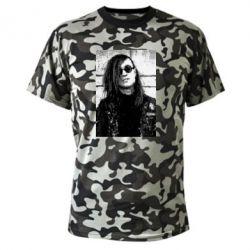 Камуфляжная футболка Гражданская оборона