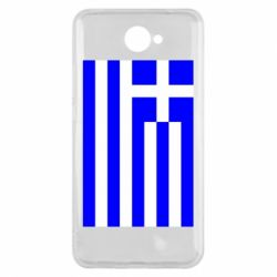 Чохол для Huawei Y7 2017 Греція - FatLine