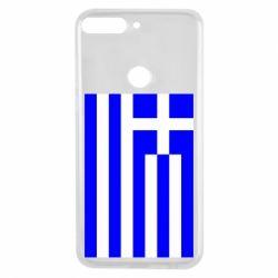 Чохол для Huawei Y7 Prime 2018 Греція - FatLine