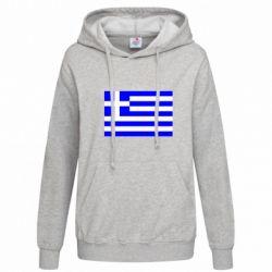 Женская толстовка Греция - FatLine