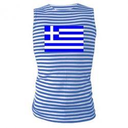 Майка-тельняшка Греция - FatLine