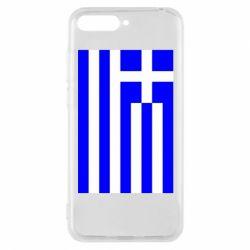 Чохол для Huawei Y6 2018 Греція - FatLine
