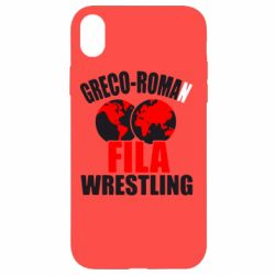Чехол для iPhone XR Greco-Roman Fila Wrestling