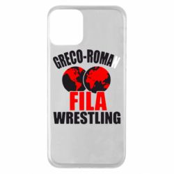 Чехол для iPhone 11 Greco-Roman Fila Wrestling