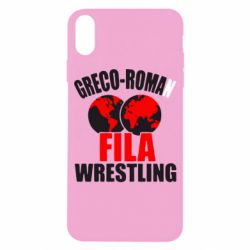 Чехол для iPhone X Greco-Roman Fila Wrestling - FatLine