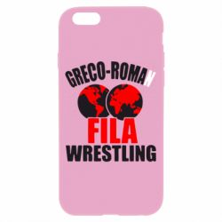 Чехол для iPhone 6/6S Greco-Roman Fila Wrestling