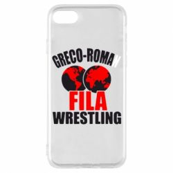 Чехол для iPhone 8 Greco-Roman Fila Wrestling