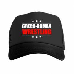 Кепка-тракер Greco-Roman Wrestling - FatLine