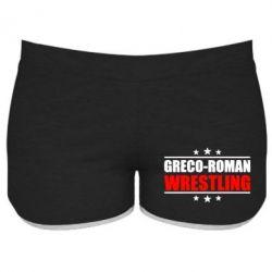 Женские шорты Greco-Roman Wrestling - FatLine
