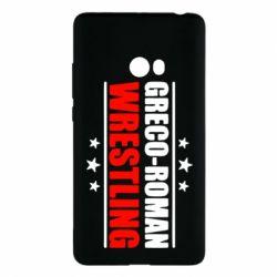 Чехол для Xiaomi Mi Note 2 Greco-Roman Wrestling - FatLine