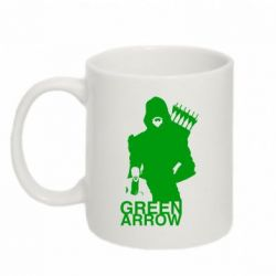 Кружка 320ml Green Arrow Art - FatLine