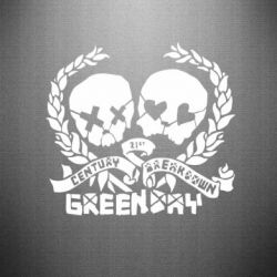 Наклейка Green Day 21 centure - FatLine