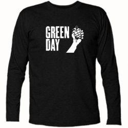 Футболка с длинным рукавом Green Day American Idiot - FatLine