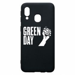 "Чохол для Samsung A40 Green Day "" American Idiot"