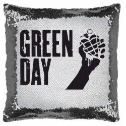 Подушка-хамелеон Green Day American Idiot