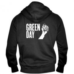 Мужская толстовка на молнии Green Day American Idiot - FatLine