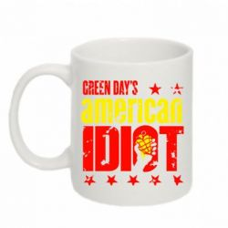 Кружка 320ml Green Day's American Idiot