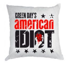 Подушка Green Day's American Idiot