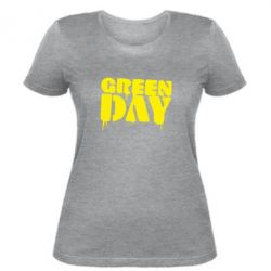 Женская футболка Green Day - FatLine