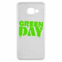 Чехол для Samsung A3 2016 Green Day