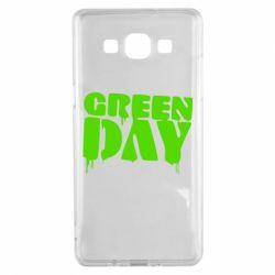 Чехол для Samsung A5 2015 Green Day