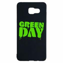 Чехол для Samsung A5 2016 Green Day