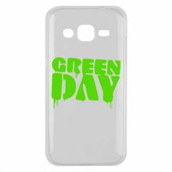 Чехол для Samsung J2 2015 Green Day
