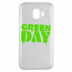 Чехол для Samsung J2 2018 Green Day