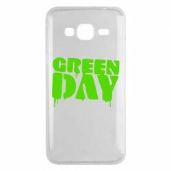 Чехол для Samsung J3 2016 Green Day