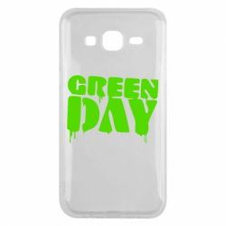 Чехол для Samsung J5 2015 Green Day