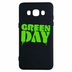 Чехол для Samsung J5 2016 Green Day