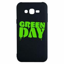 Чехол для Samsung J7 2015 Green Day
