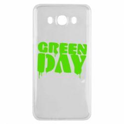 Чехол для Samsung J7 2016 Green Day