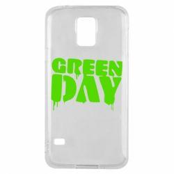 Чехол для Samsung S5 Green Day