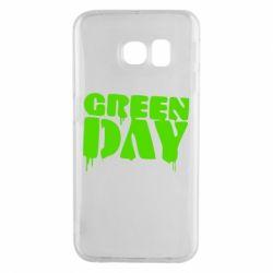 Чехол для Samsung S6 EDGE Green Day