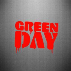 Наклейка Green Day - FatLine