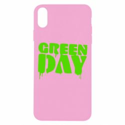 Чехол для iPhone Xs Max Green Day