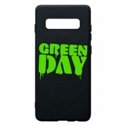 Чехол для Samsung S10+ Green Day
