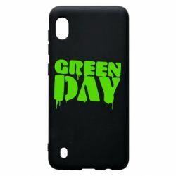 Чехол для Samsung A10 Green Day
