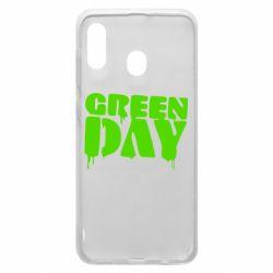 Чехол для Samsung A20 Green Day