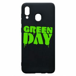 Чехол для Samsung A30 Green Day