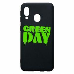 Чехол для Samsung A40 Green Day