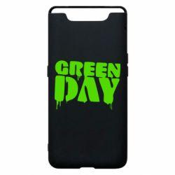 Чехол для Samsung A80 Green Day