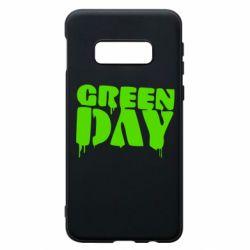 Чехол для Samsung S10e Green Day