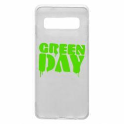 Чехол для Samsung S10 Green Day