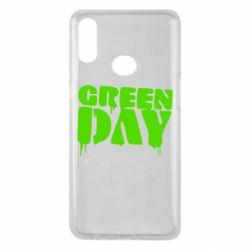 Чехол для Samsung A10s Green Day