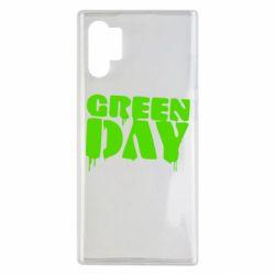 Чехол для Samsung Note 10 Plus Green Day